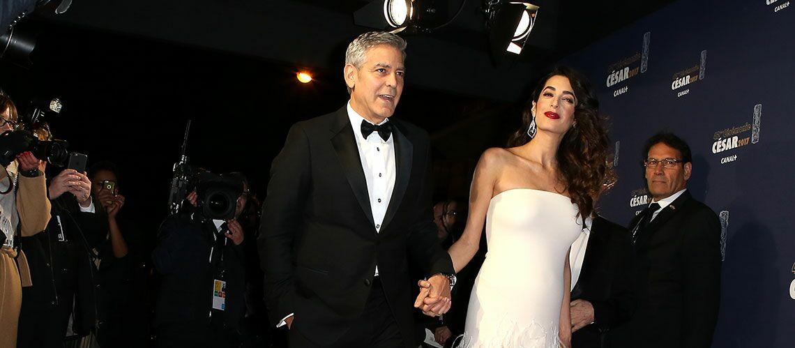 "George Clooney, un futur papa ""anxieux"""
