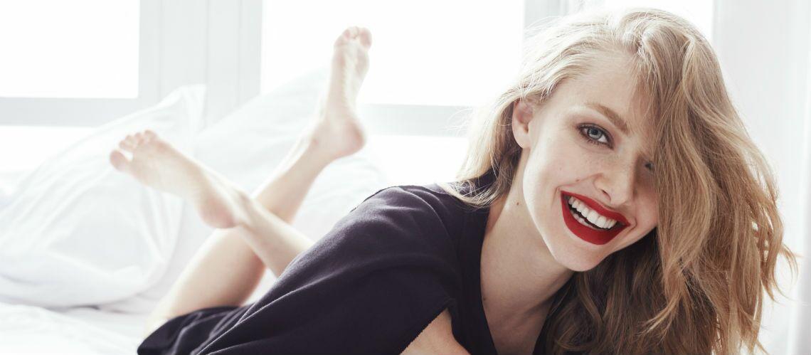 INTERVIEW – Amanda Seyfried: découvrez les secrets de beauté de l'actrice