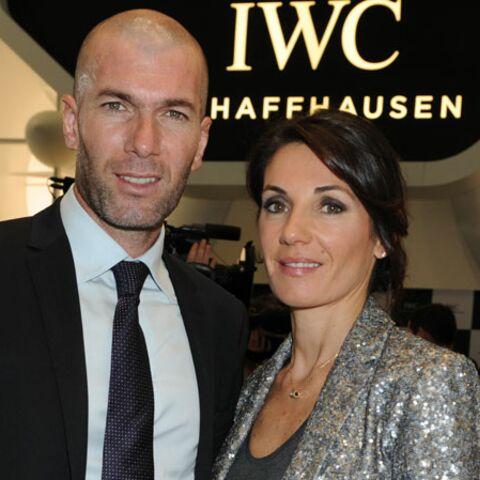 Gala By Night: Soirée à 100 à l'heure pour Zinedine Zidane et son épouse Véronique