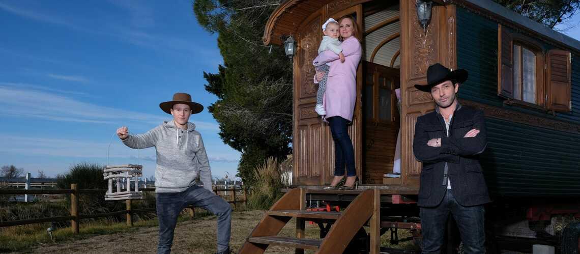 EXCLU- Sébastien Roch (Cri-Cri d'amour) nous présente sa femme rencontrée sur Facebook et ses enfants