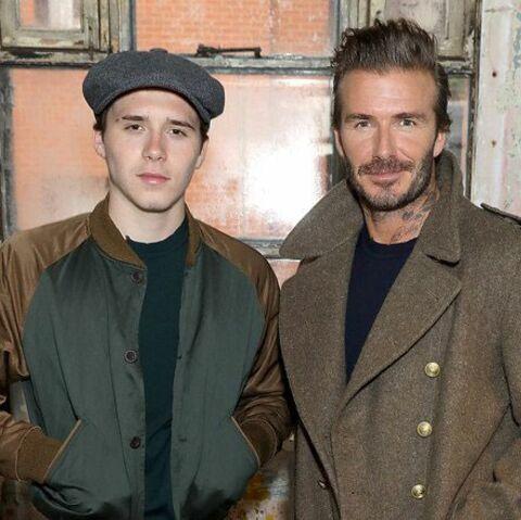 Quand David Beckham affiche son fils Brooklyn sur Instagram