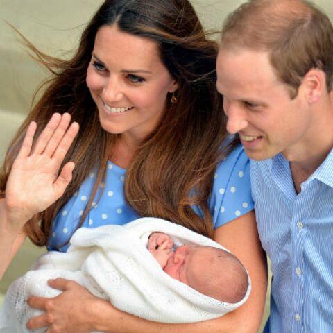 Seulement cinq membres de la famille royale au baptême du prince George