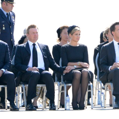 Vol MH17: Maxima des Pays-Bas accablée de douleur