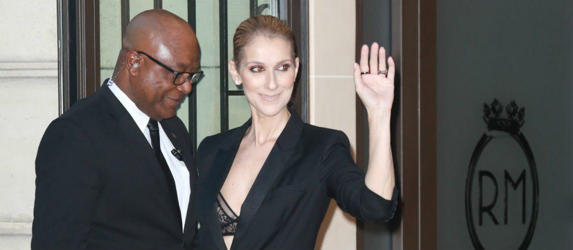 PHOTOS – Céline Dion ultra sexy en soutien-gorge apparent pour diner avec Pepe Munoz