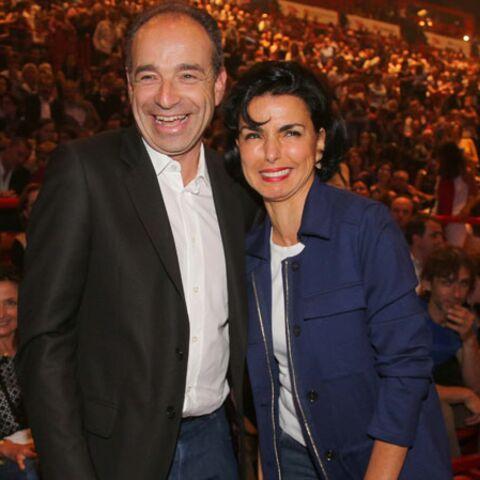 Rachida Dati et Jean-François Copé côte à côte au concert de Patrick Bruel