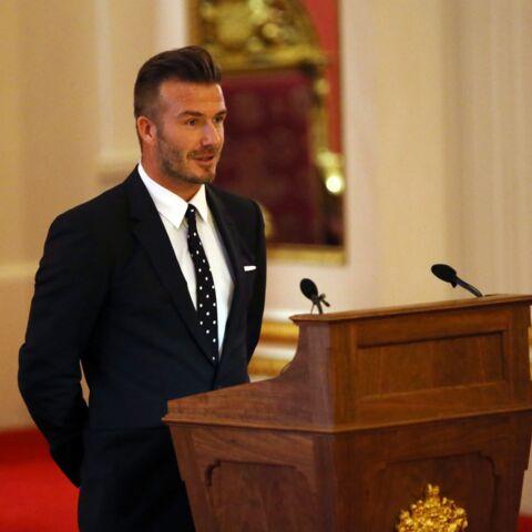 David Beckham: «ma grand-mère aurait été si fière»