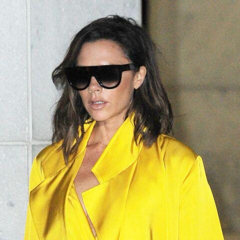 Victoria Beckham, une lady en jaune d'or