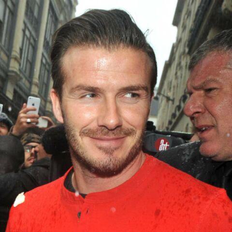 Photos- David Beckham de retour au boulot