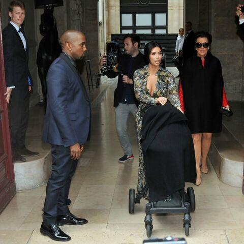 Photos – Kim K et Kanye West, leur escapade familiale chez Valentino