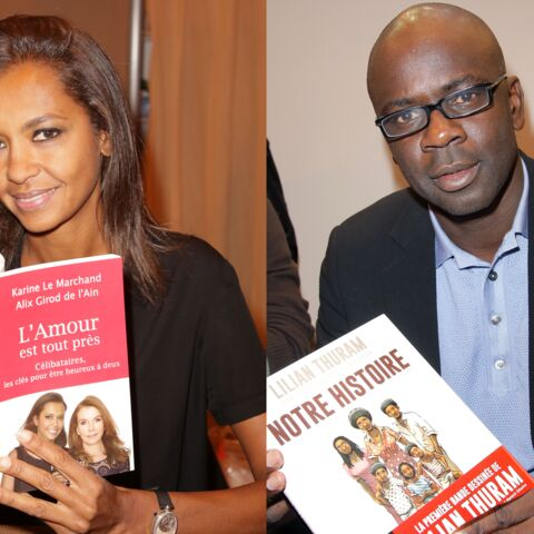 Karine Le Marchand et Lilian Thuram s'évitent au Salon du livre