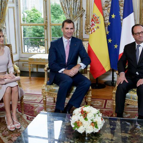 Le roi Felipe VI d'Espagne est en visite en France