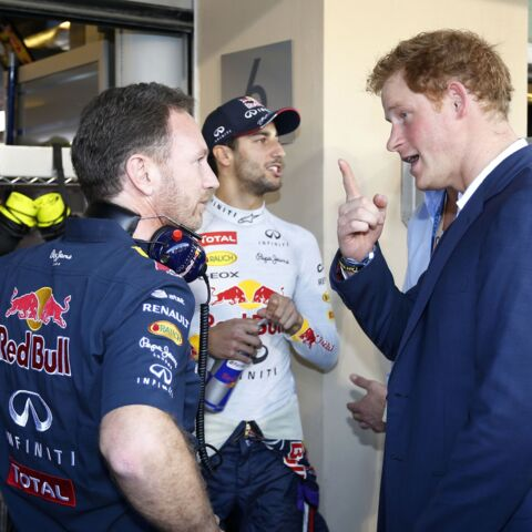 Le prince Harry assiste au couronnement de Lewis Hamilton
