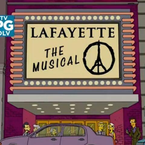 Les Simpson rendent hommage aux victimes des attentats