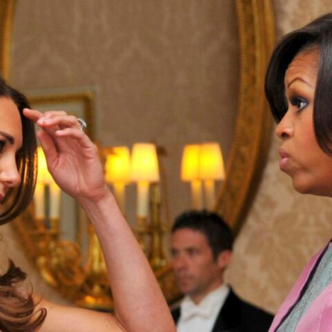 Le secret beauté que Kate Middleton a partagé avec Michelle Obama