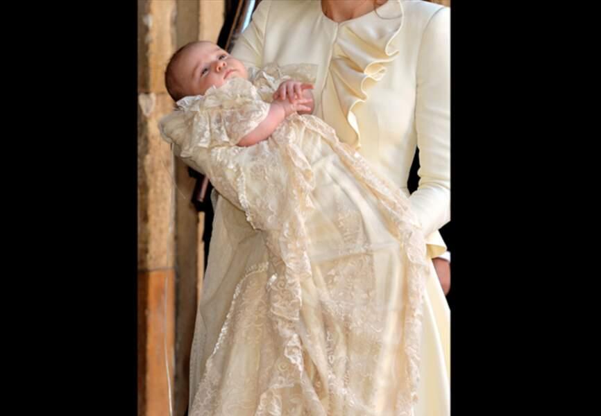 Le prince George assorti à sa maman
