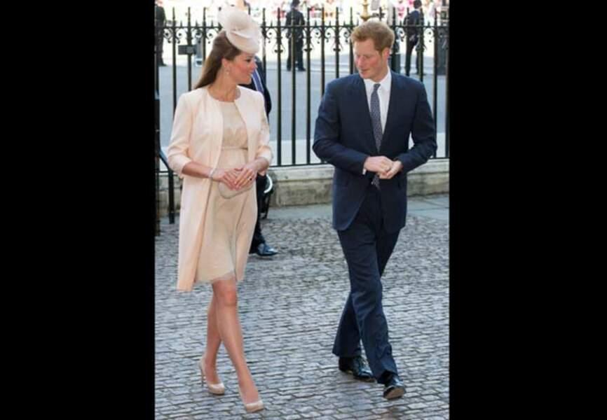 Catherine et son beau-frère, le prince Harry
