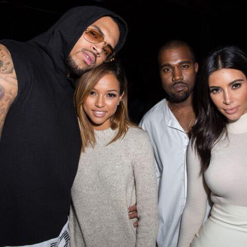 Quand Kim Kardashian snobe la petite amie de Chris Brown