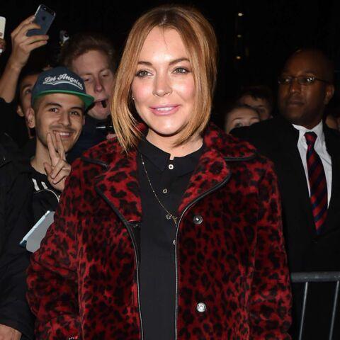 Lindsay Lohan a la bague au doigt!