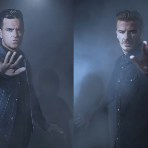 David Beckham et Robbie Williams unis pour l'Unicef