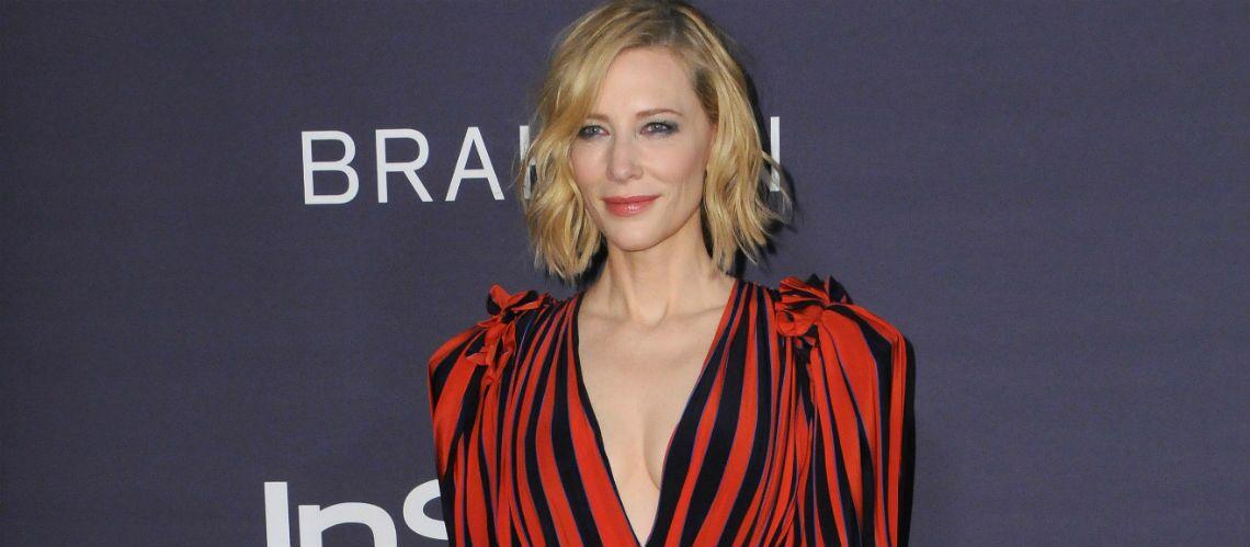 PHOTOS – Coupe de cheveux: Comment Cate Blanchett joue de son carré blond