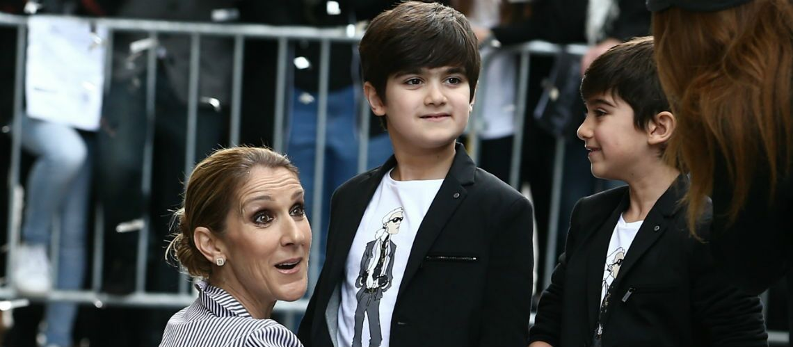 PHOTO – Céline Dion dévoile un tendre cliché pour l'anniversaire de ses jumeaux