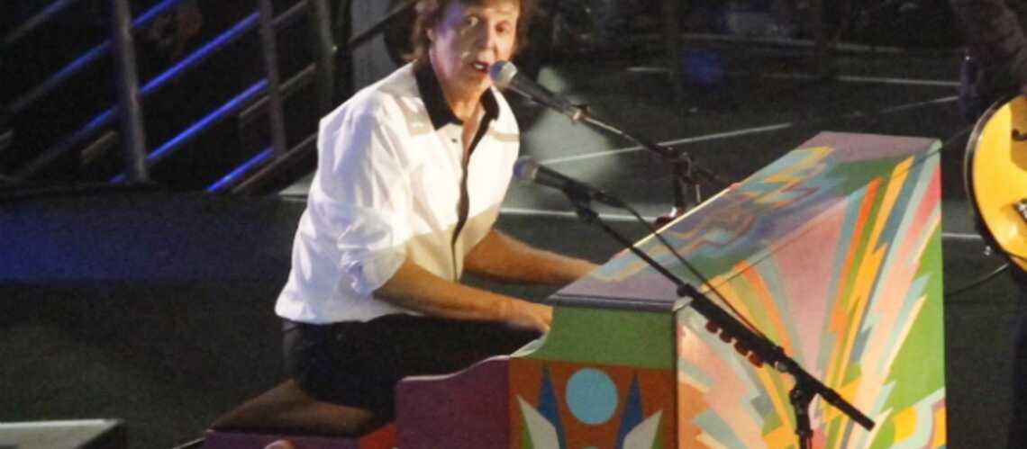 Photos- Paul McCartney fait fermer Hollywood Boulevard pour un concert