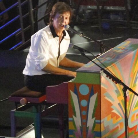 Photos- Paul McCartney fait fermer Hollywood Boulevard pour un concert