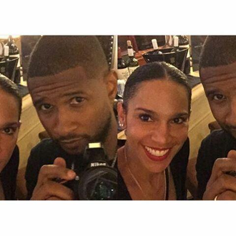 Usher a épousé sa petite amie