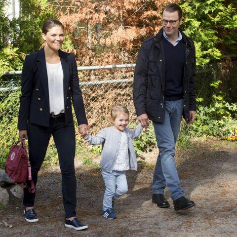 La princesse Estelle de Suède rentre à l'école