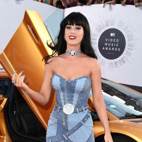 Katy Perry dans la robe en jean de Britney Spears