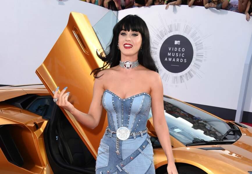 Katy Perry radieuse aux MTV VMA