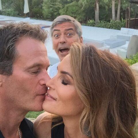 George Clooney ruine la photo de Cindy Crawford
