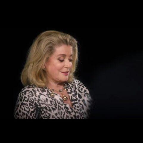 Catherine Deneuve interprète Loïc Prigent