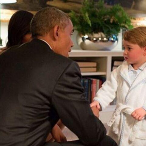 Baby George et le buzz de la «royal robe»