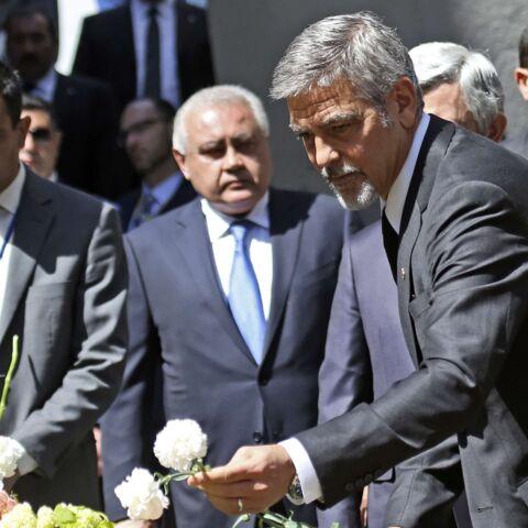 George Clooney et Charles Aznavour ensemble pour l'Arménie