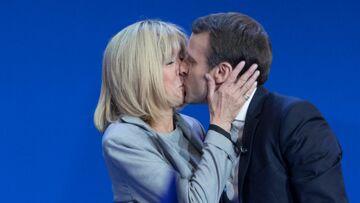 PHOTO Les petits-enfants d'Emmanuel Macron et Brigitte premiers supporters de leur papy