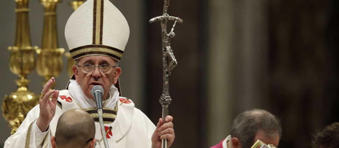 Photos – Première messe de Noël pour le pape François