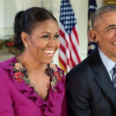 PHOTOS – Dernier Noël des Obama, Tori Spelling enceinte rencontre le Père Noël… la semaine des stars en images