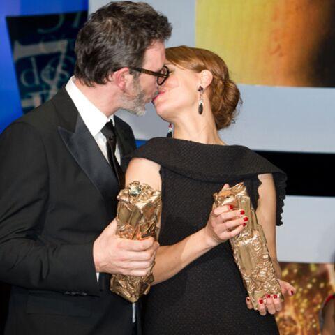 César 2012: Michel Hazanavicius et Omar Sy, deux hommes comblés