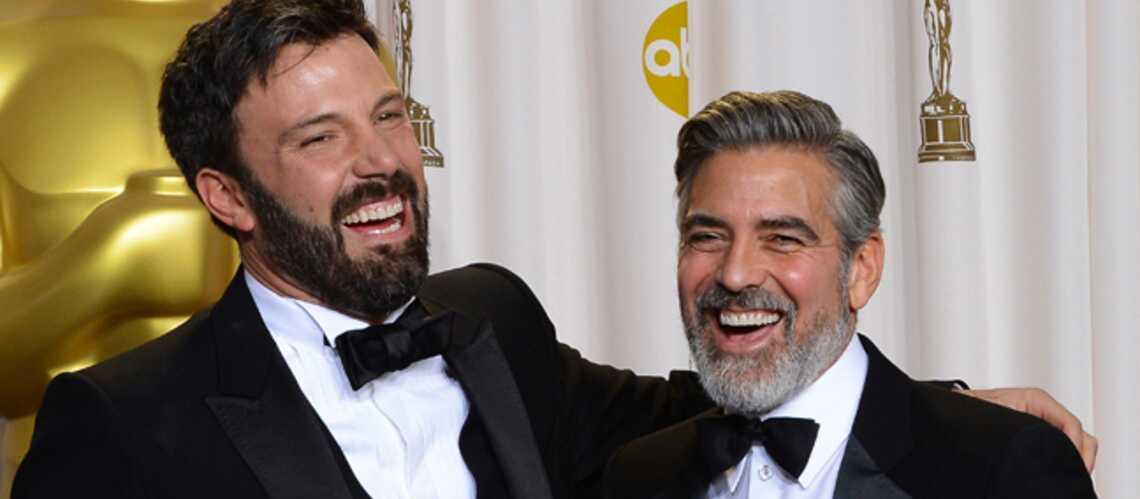 Jean Dujardin, George Clooney: les barbus au poil