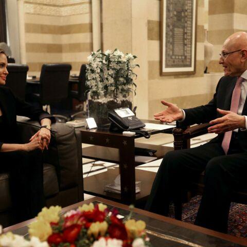 Angelina Jolie bouleversée par sa visite au Liban