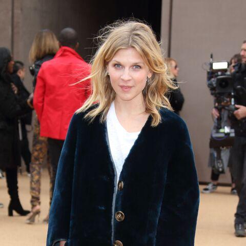 Clémence Poésy, androgyne élégante à la Fashion Week