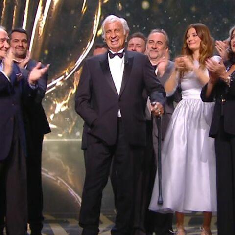 Cesar 2017: Jean-Paul Belmondo en larmes sous les yeux de sa fille Stella
