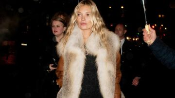 Kate Moss mixe à la soirée Prada