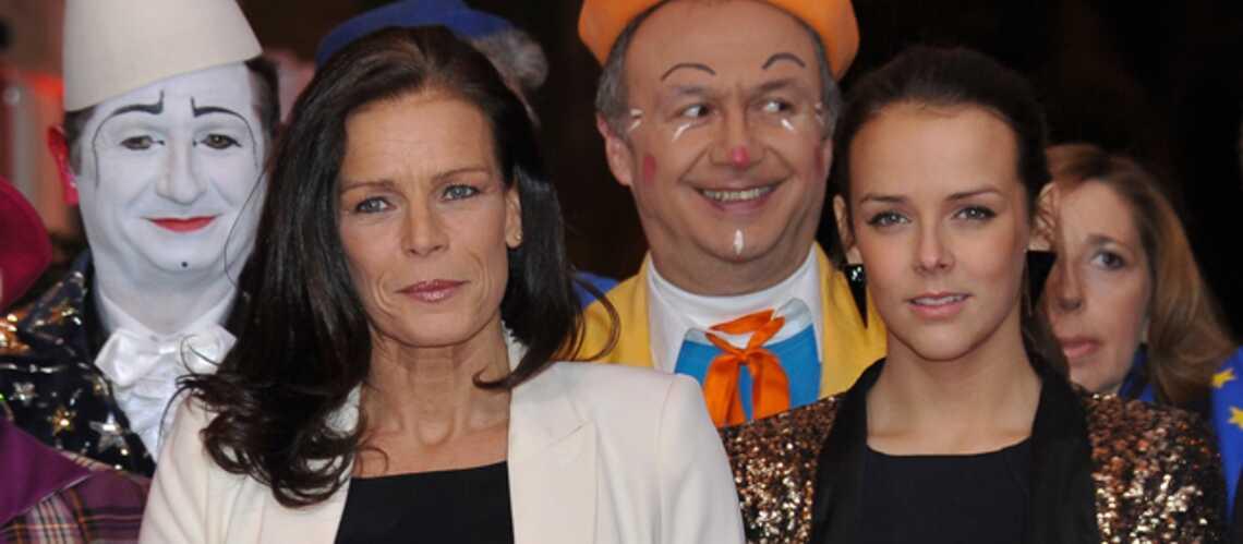 La Princesse Stéphanie et sa fille, Pauline, remettent les Prix du Festival international du Cirque de Monte-Carlo