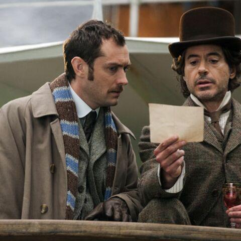Sherlock Holmes 2: Jude Law et Robert Downey Jr reprennent leurs costumes d'époque