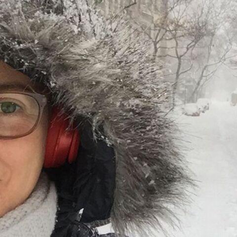 PHOTOS – Drew Barrymore, Diane Kruger: elles affrontent «Snowzilla»