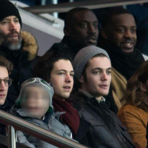 Nicolas, Pierre, Jean, Louis, Solal, la famille Sarkozy au Parc des Princes