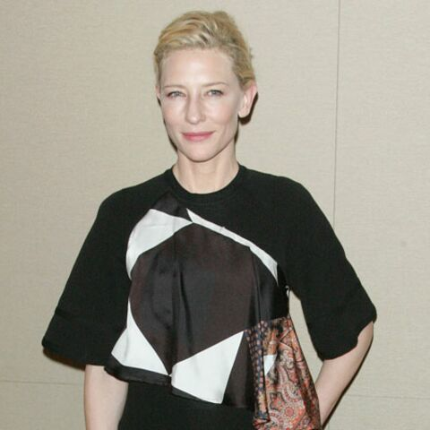 Cate Blanchett raconte son plan à 3… avec son Oscar