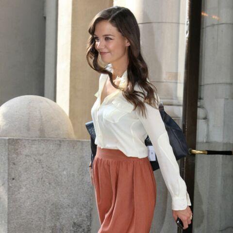 Katie Holmes, fashion phoenix